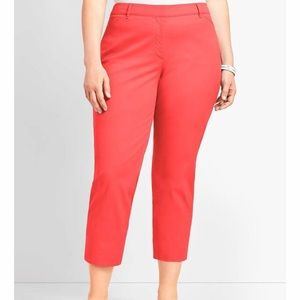 New Talbots Capri Salmon Stretch Size-14